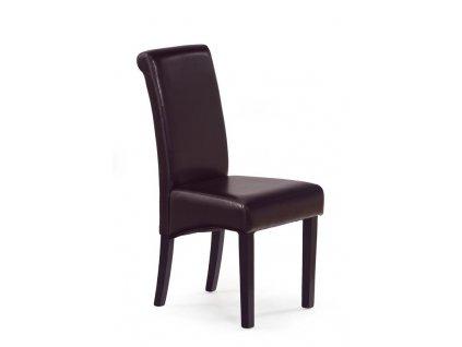 NERO židle wenge / tmavě hnědá