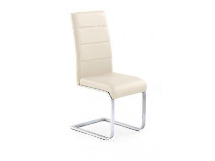 K85 židle tmavý krém