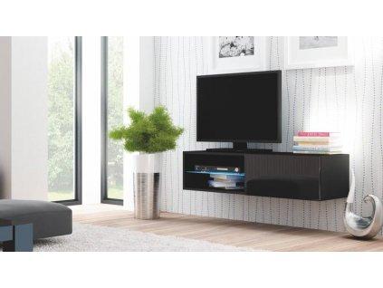 LIVO RTV 120 závěsná černá