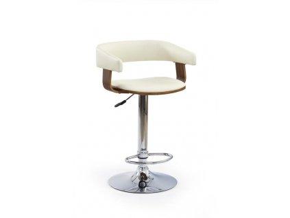 H12 barová židle ořech