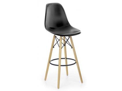 H51 barová židle černá