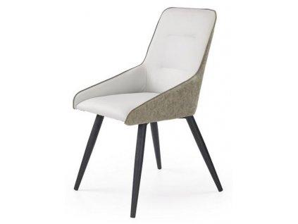 K243 židle světlý beton / šedá