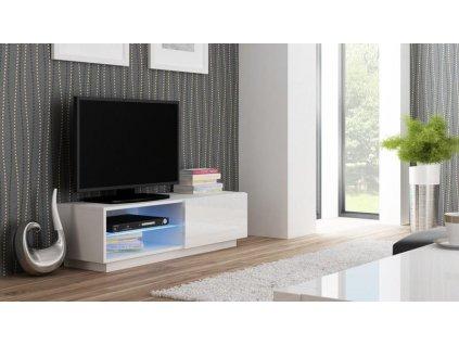 LIVO RTV 120 stojící bílá