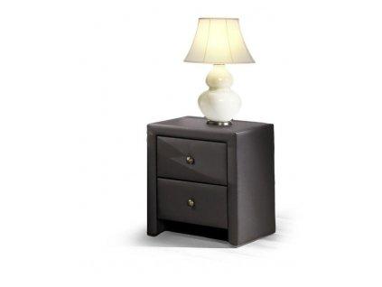 PRIMA skříňka noční černá