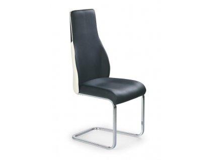 K141 židle černo-bílá