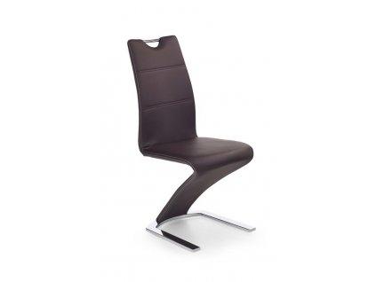 K188 židle hnědá