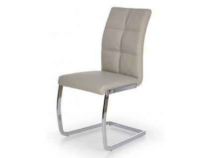 K228 židle světle šedá