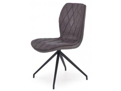 K237 židle šedá