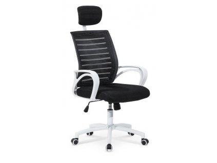 SOCKET křeslo kancelářské bílo - černé