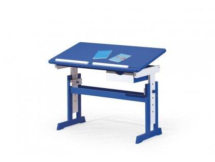 PACO psací stůl modro - bílý