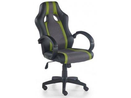 RADIX křeslo kancelářské šedo-zelené