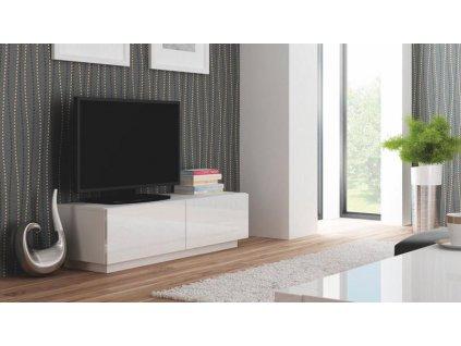 LIVO RTV 160 stojící bílá