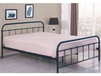 LINDA 120 postel černá