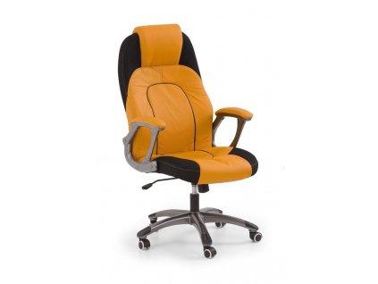 VIPER křeslo kancelářské oranžovo-černé