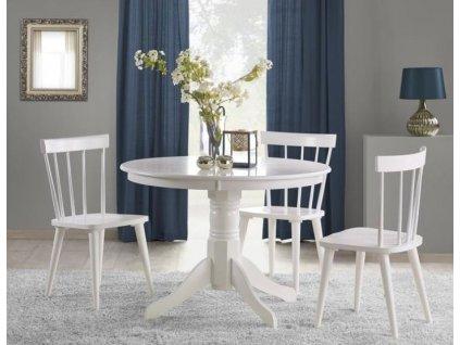 GLOSTER stůl bílý