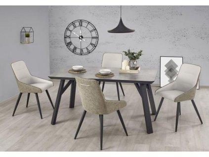 HALIFAX stůl světlý beton