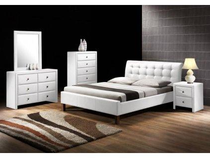 SAMARA postel bílá