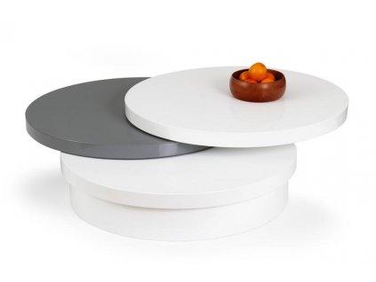 MICHELLE stolek konferenční bílo-šedý