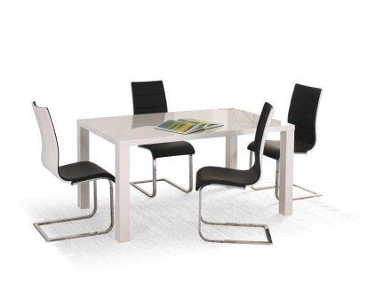 RONALD stůl bílý rozkládací 120÷160 / 80