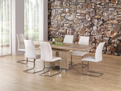 RAFAELLO stůl rozkládací dub Sonoma, Prestige Line