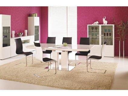 LORENZO stůl rozkládací bílý, Prestige Line