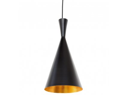 Lustr - lampa BET SHADE tall kov/černá-zlatá