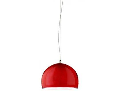 Lustr - lampa závěsná BLINU červená *48