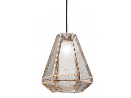 Lustr - LAMPA ZÁVĚSNÁ CALADO TALL KOV/ZLATÁ