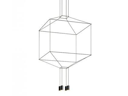 Lustr - lampa závěsná FLUSSO 4