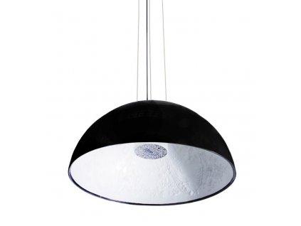 Lustr - lampa závěsná elegantní 60 černá