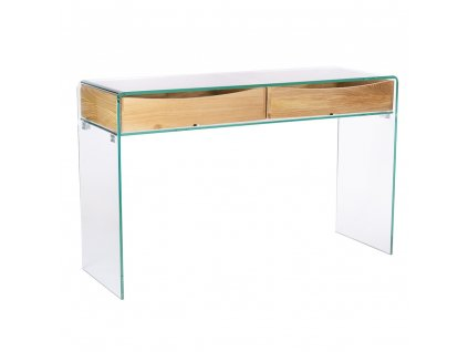 Konzole ze skla CASSETTO sklo/dýha