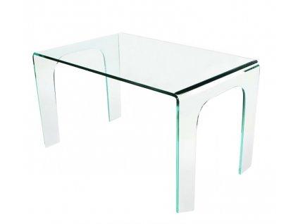 Stůl skleněný MODERNO sklo transparentní