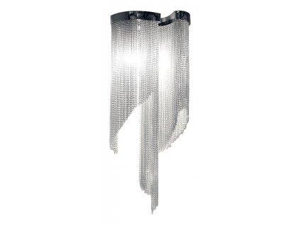 Lustr - nástěnná lampa ATLANTA WALL - hliník, ocel