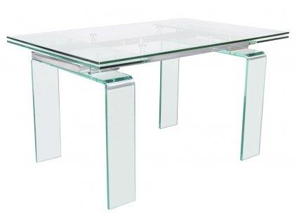 Stůl skleněný ATLANTIS clear 200/300 - sklo kalené