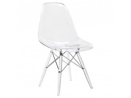 Židle DSP ICE - polykarbonát