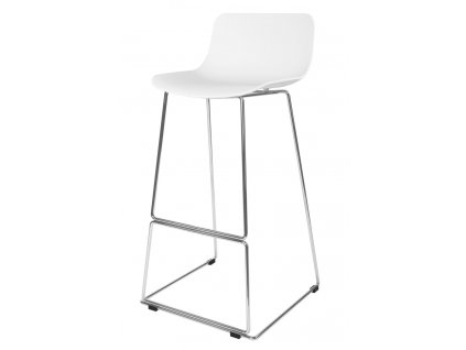 Barová židle DELI bílá