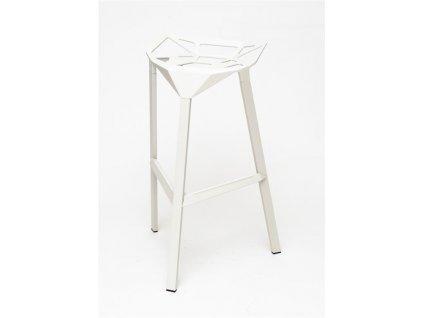 Barová židle Gap bílá