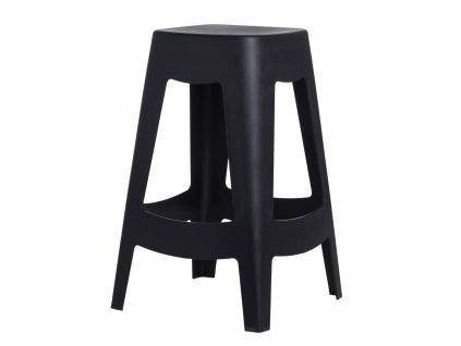 Barová židle TOWER černá