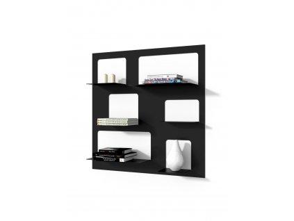 Knihovnička LIBRA 3 černá
