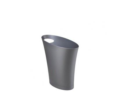 Koš na odpadky SKINNY stříbrný