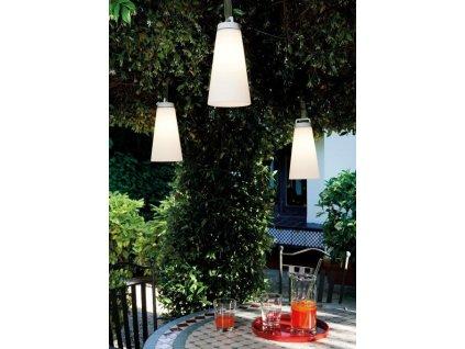 Lustr - lampa SASHA bílá závěsná