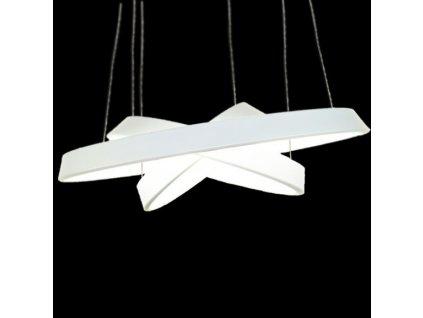 Lustr - lampa závěsná SMD 12 bílá