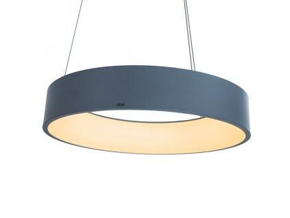 Lustr - Lampa závěsná SMD 3 šedá