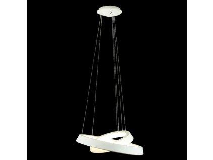 Lustr - Lampa závěsná SMD 6 bílá