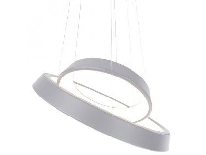 Lustr - lampa závěsná SMD 6 šedá