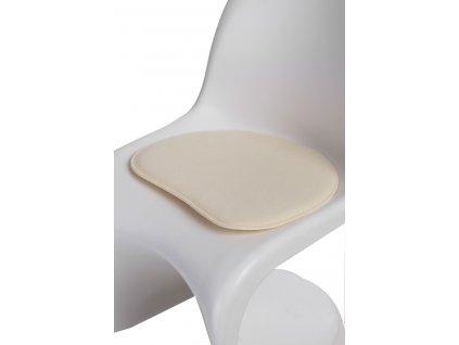 Polštář na židle BALANCE přírodní