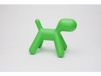Sedadlo PES zelený