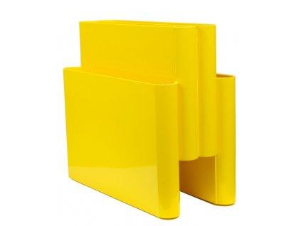 Stojan na časopisy BS01 žlutý