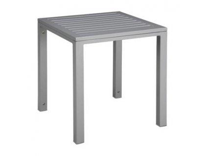 Stolek Cubic deska hliníkový 45x50x50 Grey