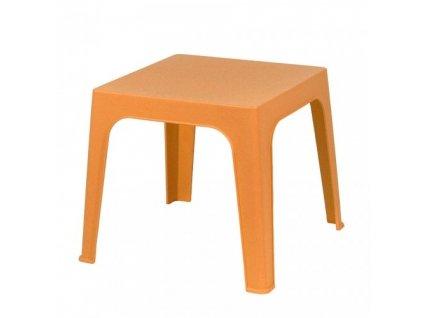 Stolek Julieta oranžový